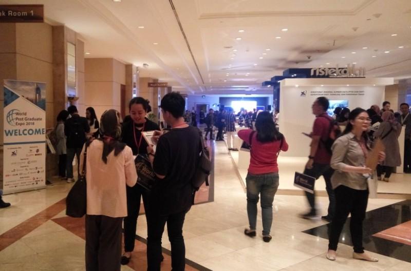 World Post Graduate Expo 2018 berlangsung pada 12-13 Mei, di Jakarta Convention Center (Foto:Anggi Tondi Martaon)