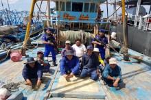 Lima Kapal Asing Ditangkap di Natuna