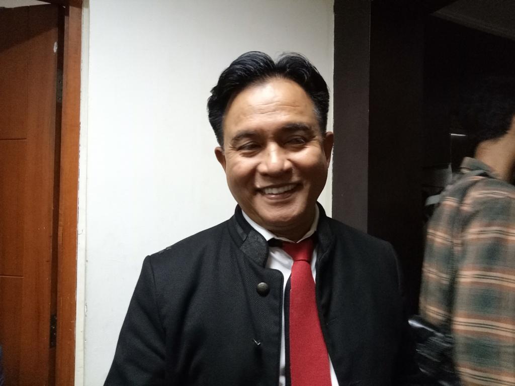 Ketua Umum Partai Bulan Bintang (PBB) Yusril Ihza Mahendra - Medcom.id/Siti Yona Hukmana.