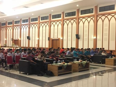 Peserta Syiar Anak Negeri di Asrama Haji Pondok Gede. Medcom.id/Sonya Michaella