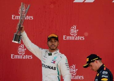 Tampil Gemilang, Lewis Hamilton Berhasil Menjuarai GP Spanyol