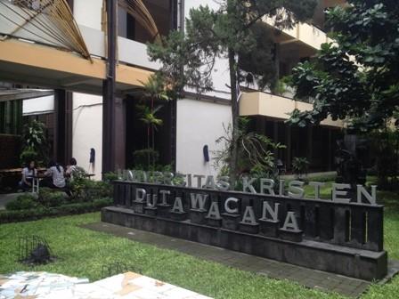 Salah satu sudut di kampus UKDW Yogyakarta. Foto: MI/ Furqon U Himawan
