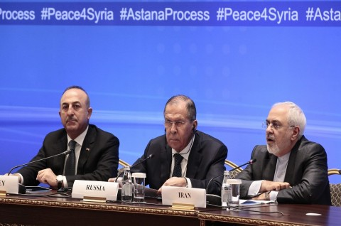 Menlu Turki, Rusia dan Iran dalam pertemuan membahas konflik