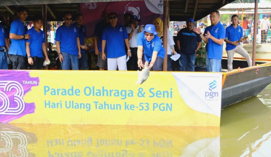 PT Perusahaan Gas Negara Tbk (PGN) merayakan hari lahirnya yang ke-53 tahun. Foto: Dok. PGN