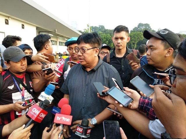 Direktur Utama Persija Jakarta Gede Widiade (Medcom.id/Riyan)