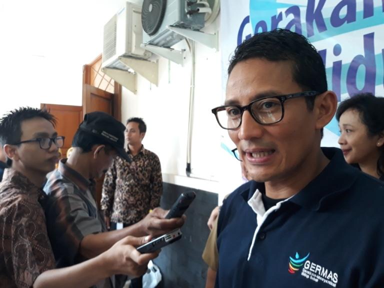 Wakil Gubernur DKI Jakarta Sandiaga Uno - Medcom.id/Sunnaholomi Halakrispen.