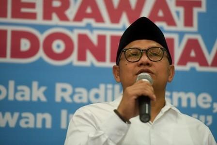 Ketua Umum PKB Muhaimin Iskandar (Cak Imin)/ANT/Hafidz Mubarak
