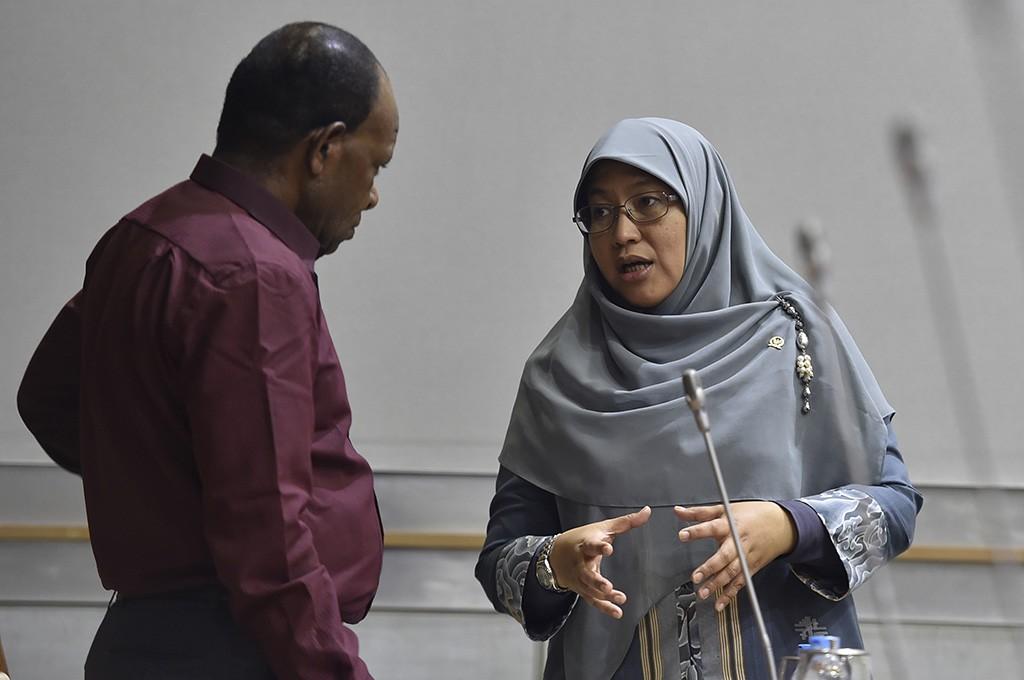 Anggota komisi X DPR RI Ledia Hanifa Amaliah.  Foto: Antara/Puspa Perwitasari