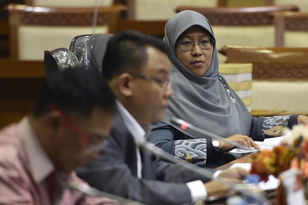 Anggota Komisi X DPR RI, Ledia Hanifa Amaliah. Foto: Antara/Puspa Perwitasari.