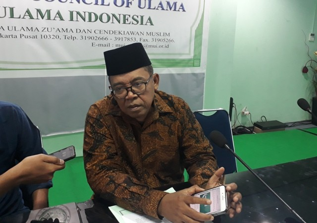 Ketua Komisi Informasi dan Komunikasi MUI Masduki Baidlowi. Foto: Medcom.id/Adin.
