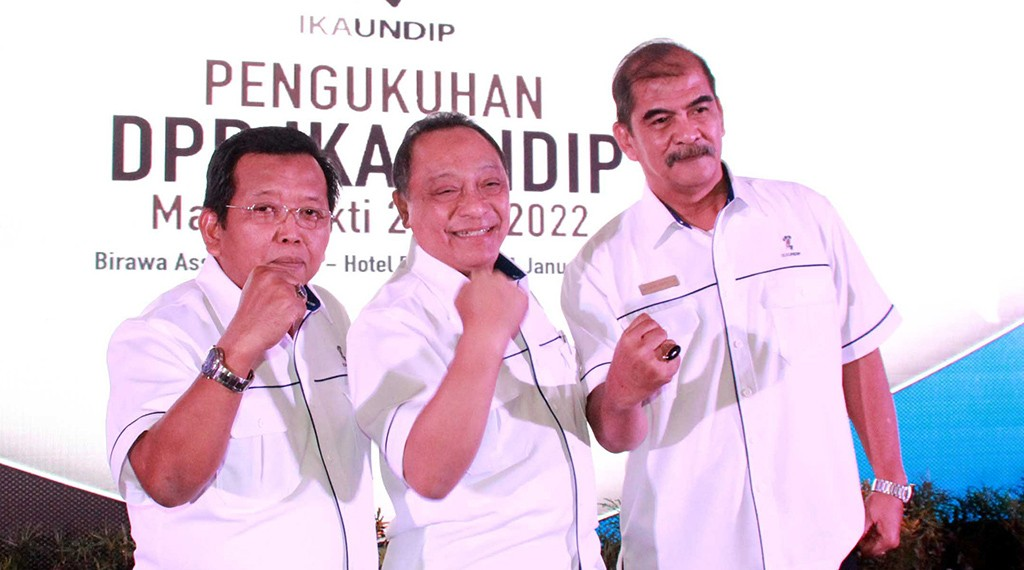 Ketua Umum DPP IKA Undip,, Maryono. Foto: Dokumen IKA Undip.