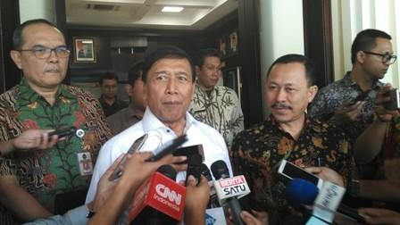 Menko Polhukam Wiranto/Medcom.id/Dheri Agriesta