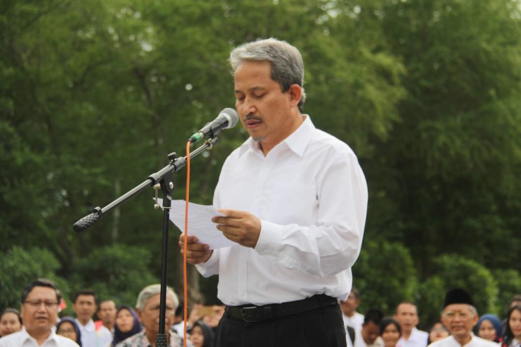 Rektor Institut Teknologi Sepuluh Nopember  (ITS) Surabaya, Joni Hermana.  Foto: Humas ITS