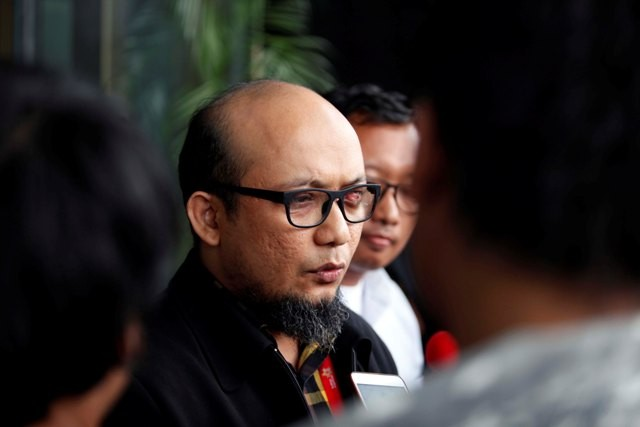 Penyidik Komisi Pemberantasan Korupsi (KPK) Novel Baswedan. Foto: MI/Rommy Pujianto