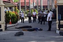 2 Terduga Teroris yang Serang Mapolda Riau Dilumpuhkan