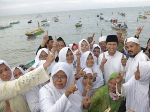 Wakil Gubernur Jawa Timur Emil Elestianto Dardak saat berkunjung