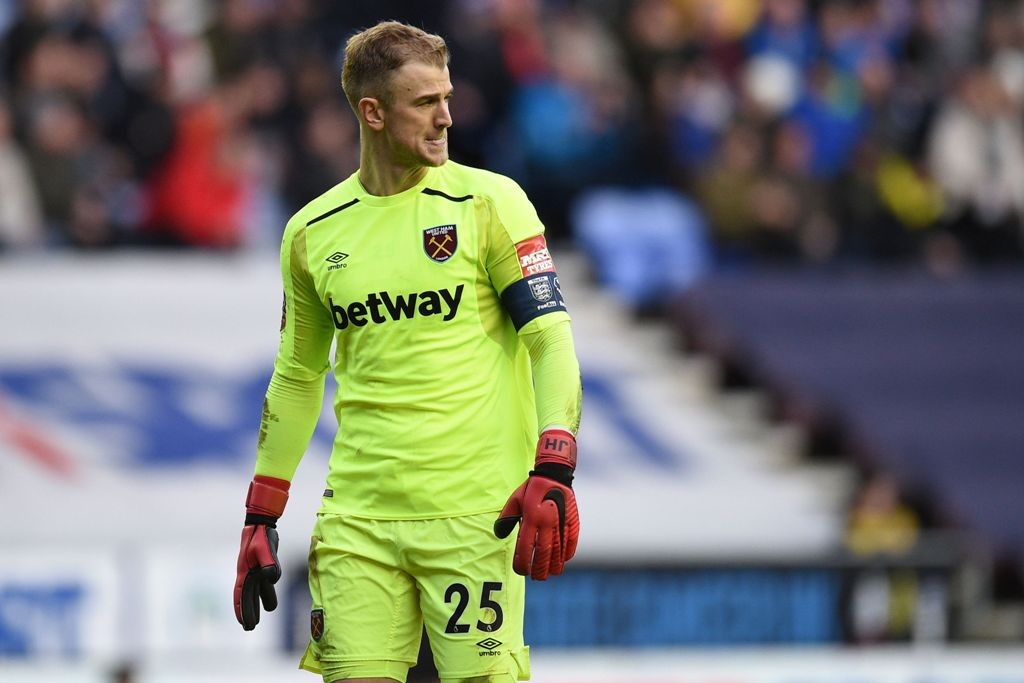 Kiper West Ham United Joe Hart (Foto: AFP)