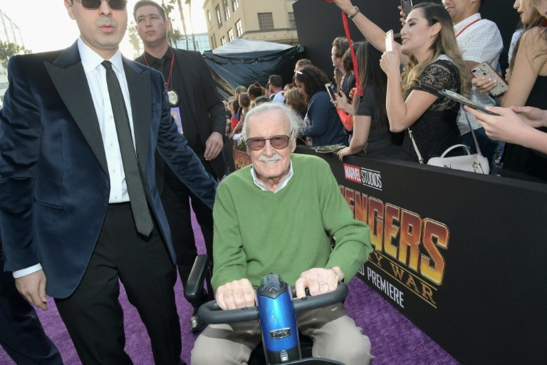 A massage therapist is suing producer-writer Stan Lee of Marvel Comics fame for sexual assault and battery. (Photo:AFP/Getty Images North America/Charley Gallay)