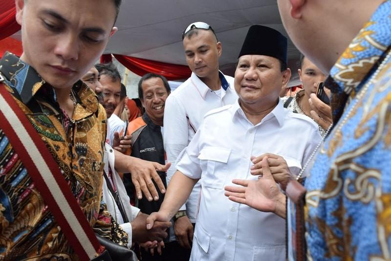 Ketua Umum Partai Gerindra Prabowo Subianto. Foto: Antara/Atika Fauziyyah