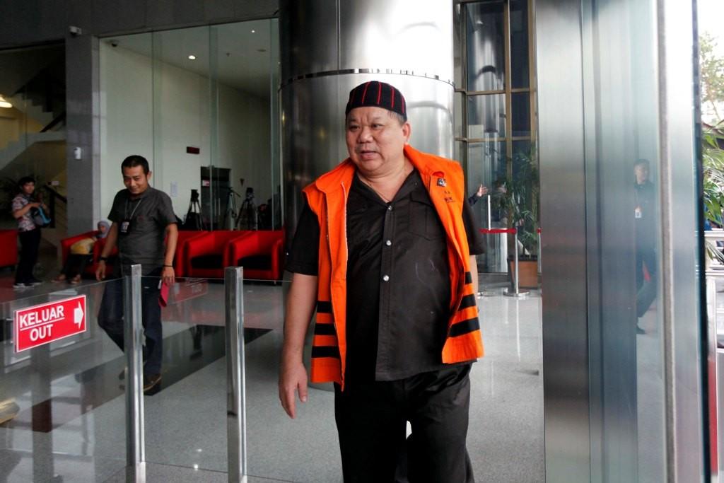 Direktur PT Sawit Golden Prima (SGP) Hery Susanto Gun alias Abun - MI/Rommy Pujianto.