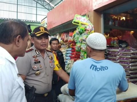 Satuan Tugas (Satgas) Pangan Kota Malang meninjau harga sembako