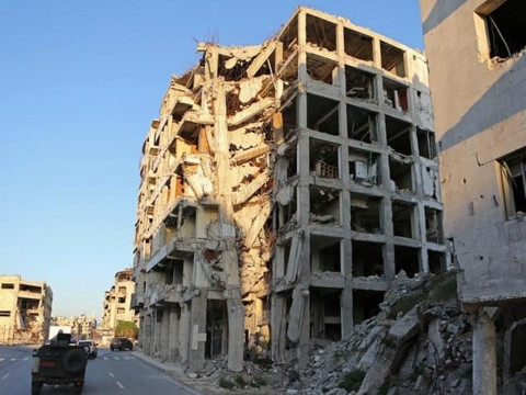 Kondisi di Suriah. (Foto: AFP).