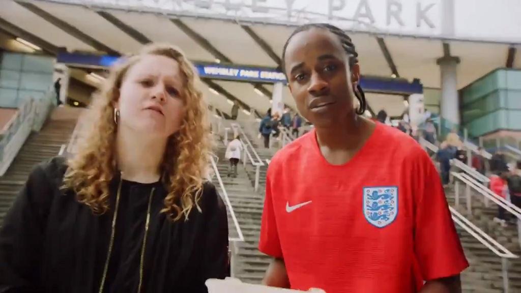 Gambar dari video pengumuman skuat Inggris. (Foto: capture image)