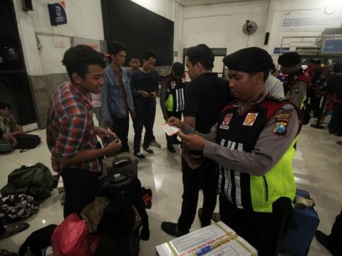 KAI Madiun Perketat Pemeriksaan Penumpang di Stasiun