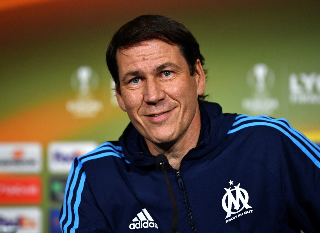 Rudi Garcia. (AFP PHOTO / UEFA)