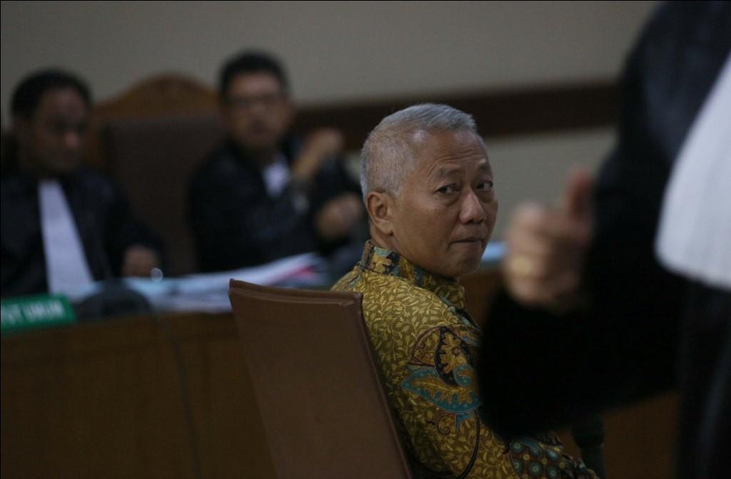 Mantan Dirjen Perhubungan Laut Kementerian Perhubungan Antonius Tonny Budiono - MI/Ramdani.