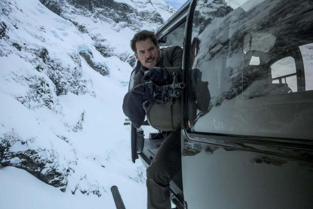 Henry Cavill dalam Mission Impossible Fallout (Foto: Paramount Pictures)