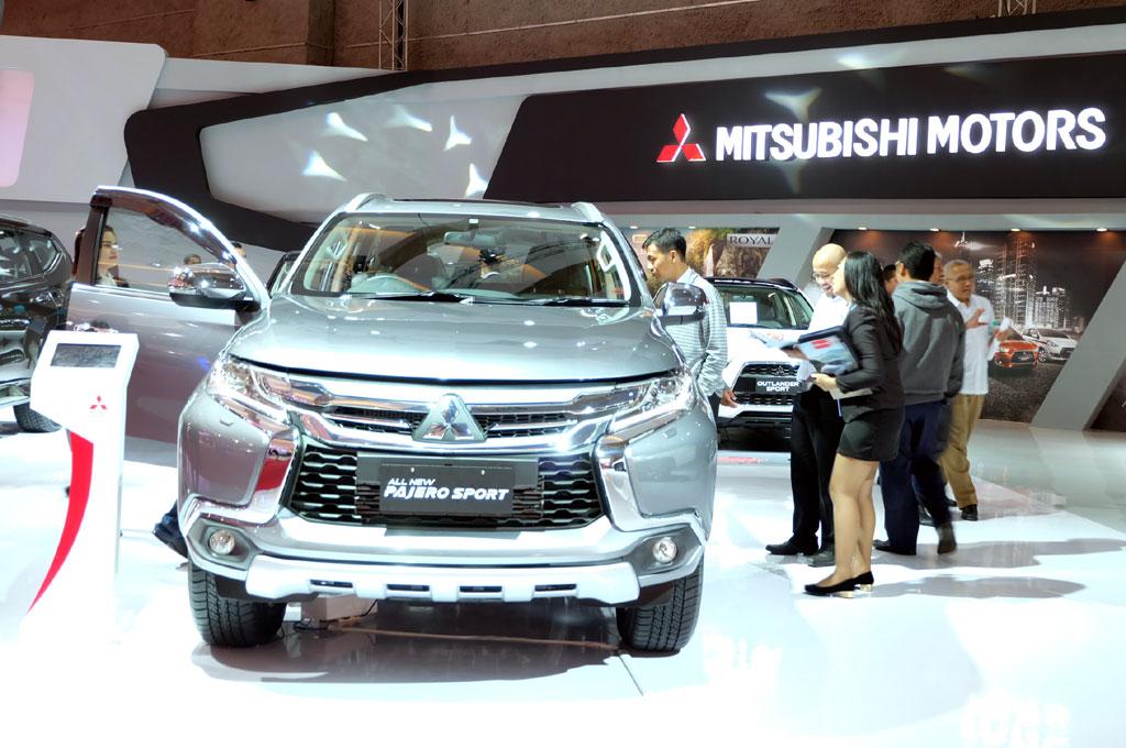 Mitsubishi kini menjadi merek paling banyak kedua untuk urusan jualan mobil di Indonesia. Medcom.id/Ekawan Raharja