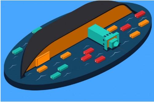 Ilustrasi kecelakaan kapal, Medcom.id - M Rizal