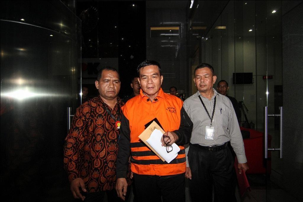 Bupati Bengkulu Selatan Dirwan Mahmud - ANT/Dhemas Revianto.