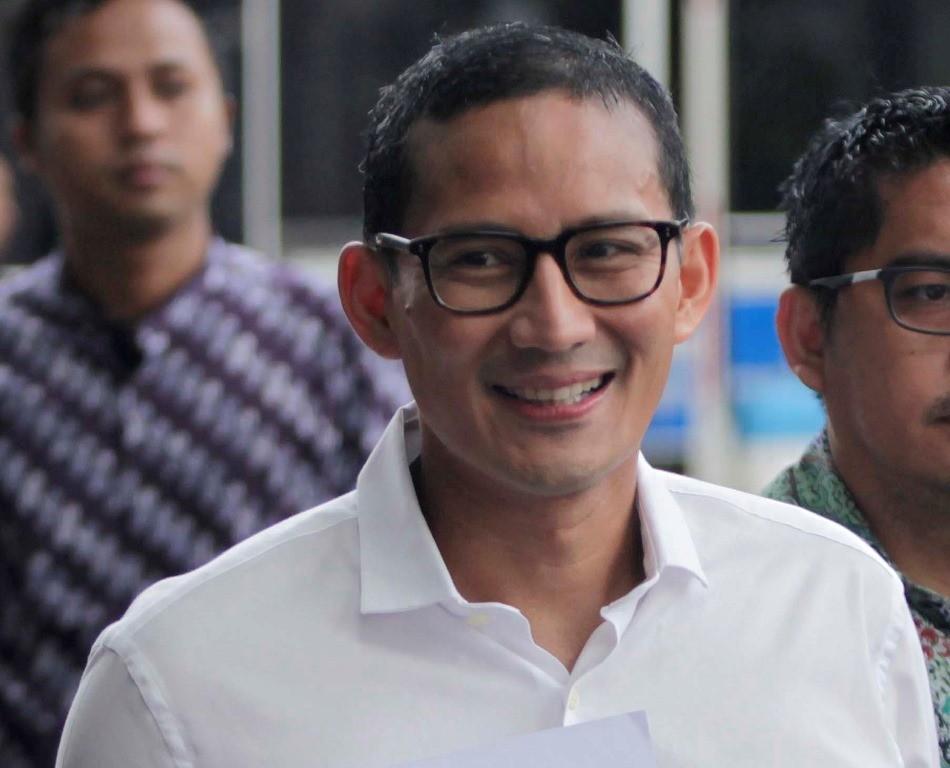 WAkil Gubernur DKI Jakarta Sandiaga Uno. MI/Rommy Pujianto.