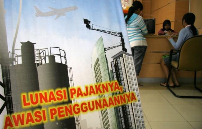Pajak  (ANT/Arief Priyono).