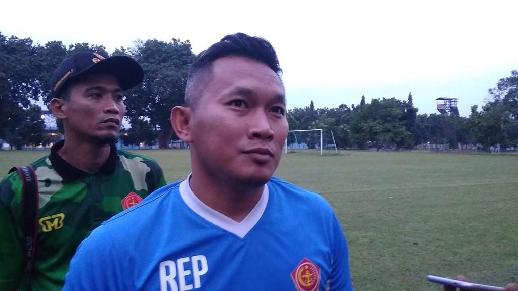 Pelatih PS Tira Rudy Eka Priyambada. (Foto: medcom.id/Ahmad Mustaqim)