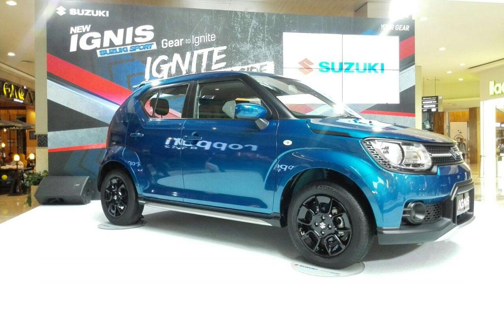 Suzuki Ignis menjadi yang terlaris di kelas citycar. Medcom.id/Ekawan Raharja