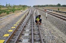 Sambungan Rel Dicuri, Perjalanan KA Sempat Terganggu