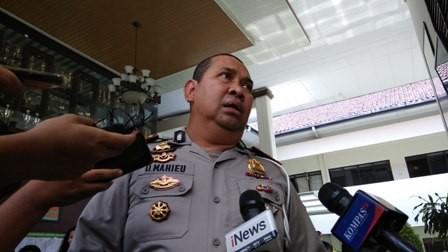 Terdakwa kasus teror bom Thamrin Aman Abdurrahman/ANT/Reno Esnir