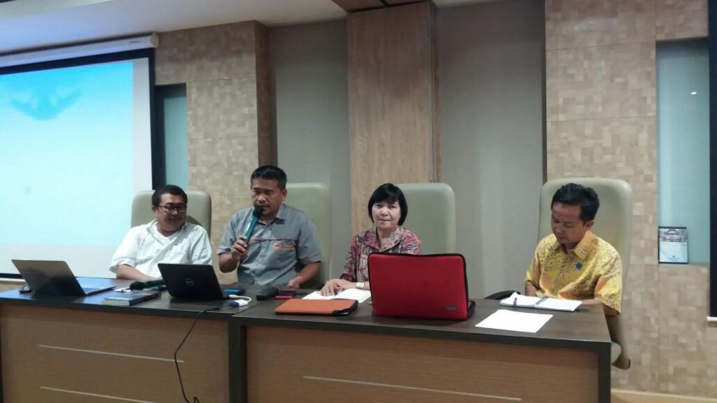 Konferensi pers Lembaga Ilmu Pengetahuan Indonesia (LIPI). foto: Medcom.id