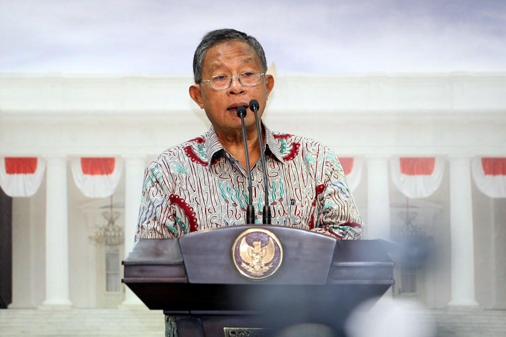 Menko Perekonomian Darmin Nasution (MI/PANCA SYURKANI)