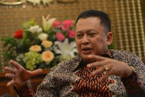 Ketua DPR Bambang Soesatyo (Bamsoet) - ANT.Wahyu Putro A.
