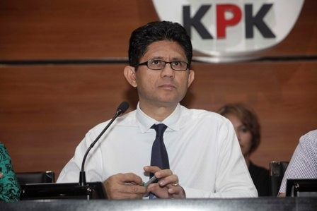 Wakil Ketua KPK Laode M. Syarief/MI/Rommy Pujianto
