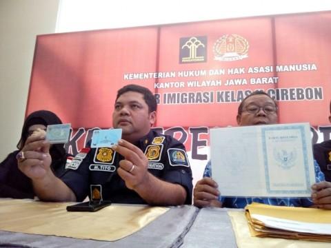 Mengaku WNI, Warga Malaysia Ditangkap