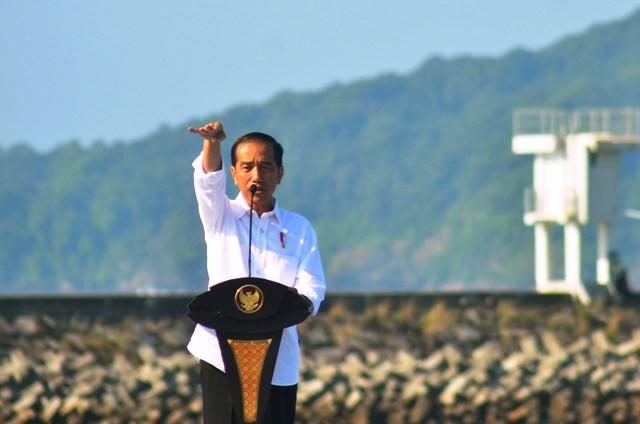 Presiden Jokowi. Foto: Antara/Adeng Bustomi.