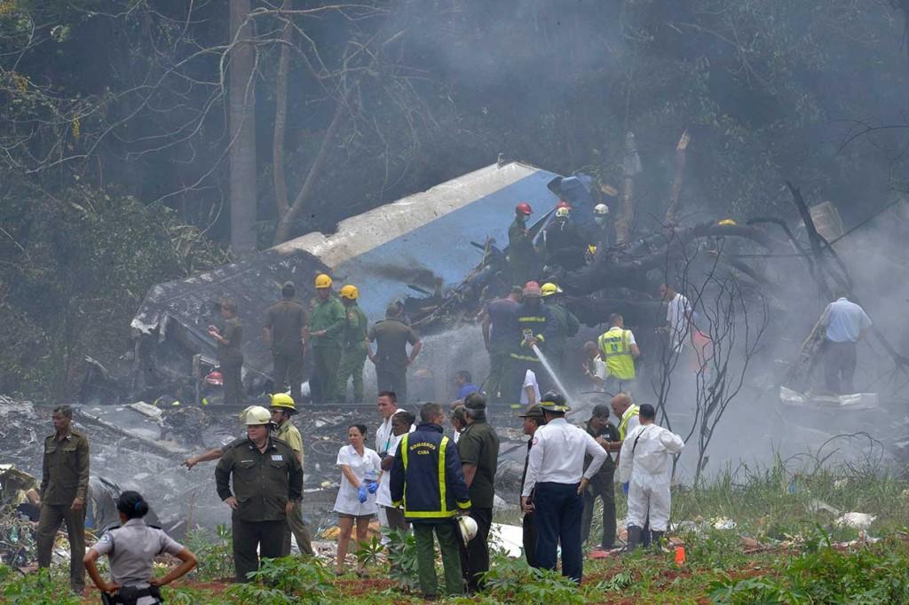 Pesawat Jatuh di Kuba, Lebih dari 100 Orang Tewas