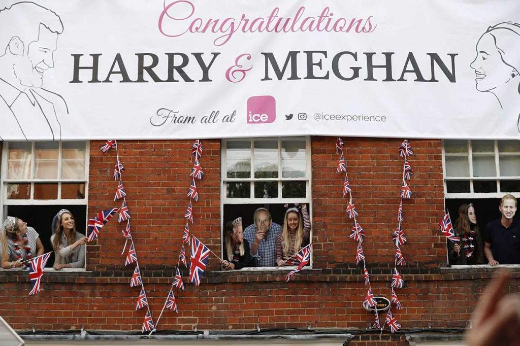 Jelang Pernikahan Pangeran Harry dan Meghan Markle