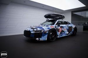 Gaya Unik Jon Olsson, Touring Pakai Audi R8