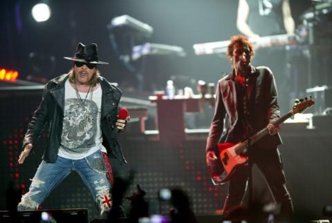 Konser Reuni Guns N' Roses Sambangi Indonesia November 2018